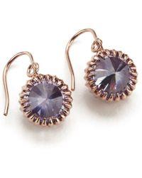 Katie Rowland - Women'S Mini Orb Drop Earrings - Lyst