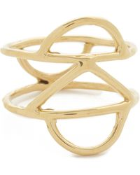 Odette New York - Crescent Cage Ring - Lyst