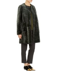 Marni Reversible Shearling Coat - Lyst