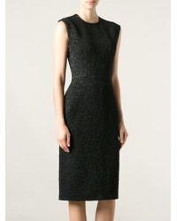 Bevza - Stretch Sleeveless Sheath Dress - Lyst