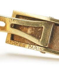 Hermès - Pre-Owned: 18Ky Cufflinks - Lyst