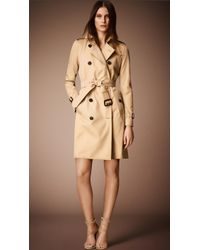Burberry The Kensington Heritage Trench Coat - Lyst