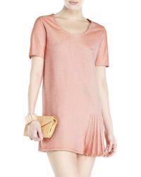 Sonia Rykiel Orange Lurex Dress - Lyst