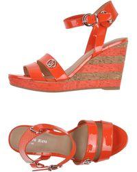 Armani Jeans Sandals - Lyst