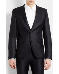 Topman Men'S Ultra Skinny Black Suit Jacket - Lyst
