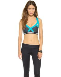 VPL Uv Insertion Bra - Turquoise - Lyst