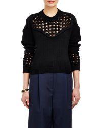 3.1 Phillip Lim Mix-Stitch Sweater - Lyst