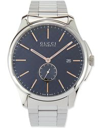 Gucci Gtimeless Large Stainless Steel Automatic Watch - Lyst