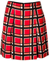 Marc By Marc Jacobs Plaid Skirt - Lyst