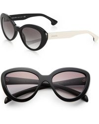 Prada 53 Mm Cat'S-Eye Sunglasses - Lyst