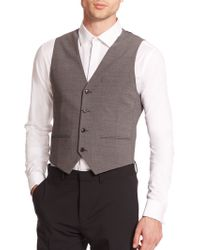 Theory Tailored Vest - Lyst