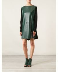 Vionnet Zip Detail Shift Dress - Lyst