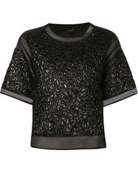 Giambattista Valli Embossed Shirt - Lyst