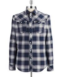 G-star Raw Plaid Sport Shirt - Lyst