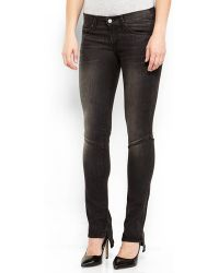Textile Elizabeth And James Black Taylor Skinny Jeans - Lyst