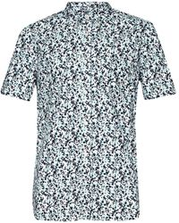 French Connection Pollock Short Sleeve Shirt - Lyst
