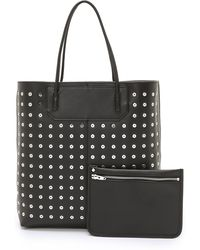Alexander Wang Prisma Tote With Eyelets - Black - Lyst