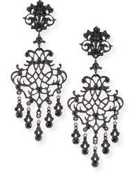Jose & Maria Barrera | Lace Scroll Dangle Earrings | Lyst