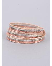 Nakamol Three Stranded Wrap Bracelet - Lyst