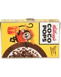 Anya Hindmarch Coco Pops Imperial Clutch - Lyst
