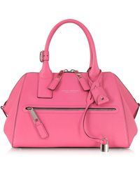 Marc Jacobs Small Textured Incognito Peony Leather Handbag - Lyst