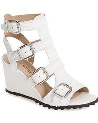 Via Spiga 'Luxie' Wedge Sandal - Lyst