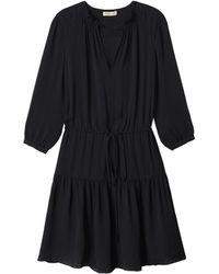 Rebecca Taylor | Long Sleeve Double Georgette Dress | Lyst