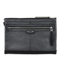 Balenciaga Bicolour Leather Document Holder - Lyst