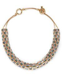 St. John - 'rondelle' Swarovski Crystal Necklace - Lyst