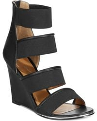 Report Signature Grays Wedge Sandals - Lyst