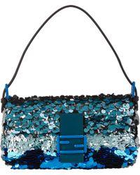 Fendi Sequin Baguette Bag - Lyst