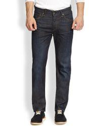 Rag & Bone Straight-Leg Jeans - Lyst