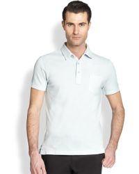Ralph Lauren Black Label Cotton Polo Shirt - Lyst