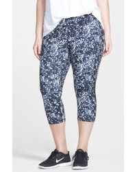 Zella 'Streamline' Capri Leggings - Lyst