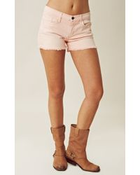 Joe's Jeans Denim Cutoff Shorts - Lyst