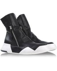 Ca By Cinzia Araia Black Ankle Boots - Lyst