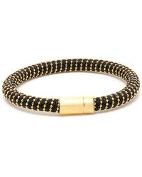 Carolina Bucci Twisted 18k Gold-plated Sterling Silver Bracelet - Lyst