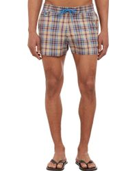 Marc By Marc Jacobs Plaid Board Shorts - Lyst