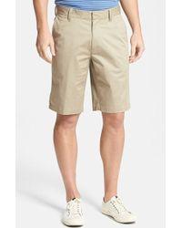 Victorinox - 'mason Ii' Classic Fit Stretch Twill Shorts - Lyst
