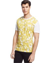 Versace Jeans Patterned T-Shirt - Lyst