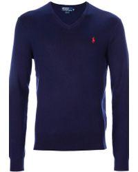 Ralph Lauren Blue Label Sweater - Lyst