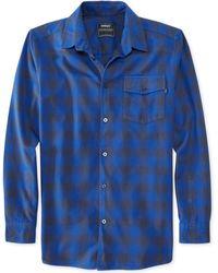 Wesc Hank Plaid Flannel Shirt - Lyst
