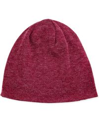 Hat Attack Lightweight Angora Knit Hat - Lyst