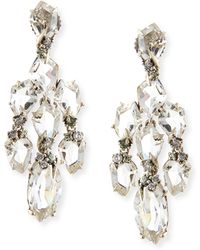 Alexis Bittar Fine - Small Chandelier Earrings W Quartzgreen Sapphirediamonds - Lyst