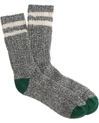 J.Crew G Camp Socks - Lyst