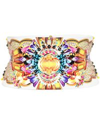Manish Arora - Beaded Faux Leather High Waist Belt - Lyst