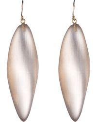 Alexis Bittar Long Leaf Earring - Lyst