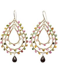 Joanna Dahdah Essential Tourmaline Earrings - Lyst