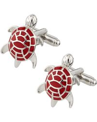 Link Up Sea Turtle Cuff Links - Lyst