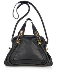 Chloé Paraty Medium Leather Tote - Lyst
